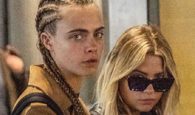 Cara Delevingne ve Ashley Benson aşka geldi
