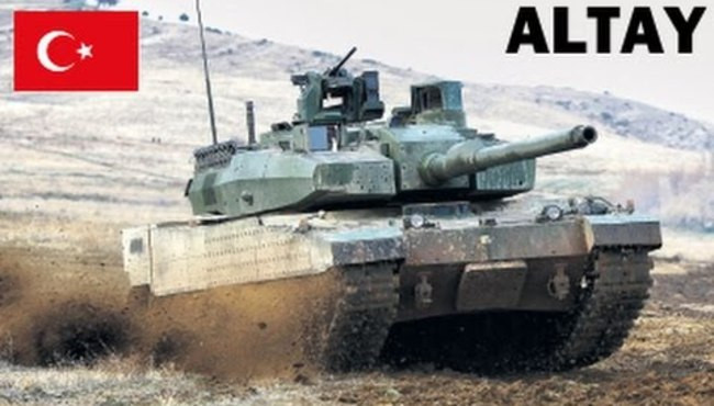 ALTAY Tank in Action | 2017 | HD